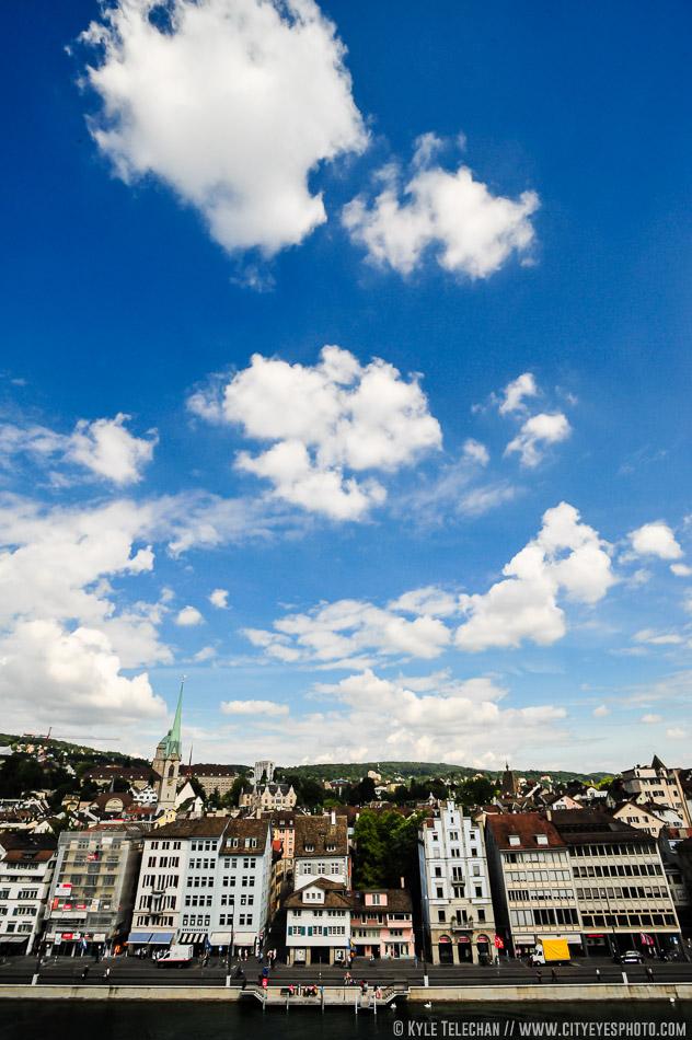 Skies above Zurich